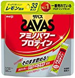 ザバス アミノパワープロテイン レモン風味 138.6g (4.2g×33本)