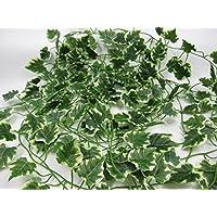 アイビー ガーランド グリーン 観葉植物 造花 涼しい インテリア 5本組