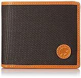 [ハンティングワールド] HUNTINGWORLD 二つ折り財布(小銭入付き) 674-435 D.BROWN/ORANGE (D.BROWN/ORANGE) [並行輸入品]