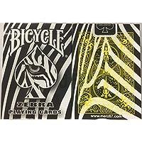 トランプ珍しい自転車ゼブラデッキ Rare Bicycle Zebra Deck Playing Cards
