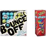 Bounce of! 桌游 CBJ83 & UNO STAKCO 43535【套裝購買】