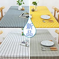 TUTUJI テーブルクロス コンプリート クロスシリーズ おしゃれなテーブル シンプルなデザイン! CANVAS 60*60cm~130*400cm オーダーメイドサイズ (90*90cm, #10)