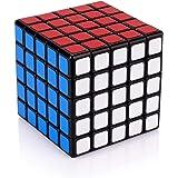 Findbetter 伝奇5S スピードキューブ 5x5x5 競技用 公式 ver.2.1 黒素体 世界標準配色 PVC…