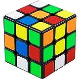 QiYi 磁石版【2021 RS3M】 魔方 3x3x3 競技用キューブ Magic Cube 立体パズル 室内遊び 室内ゲーム 回転スムーズ 世界基準配色 初級者向け ポップ防止 脳トレ [対象年齢:6歳以上] 攻略書付き 知育玩具 (磁石版【20