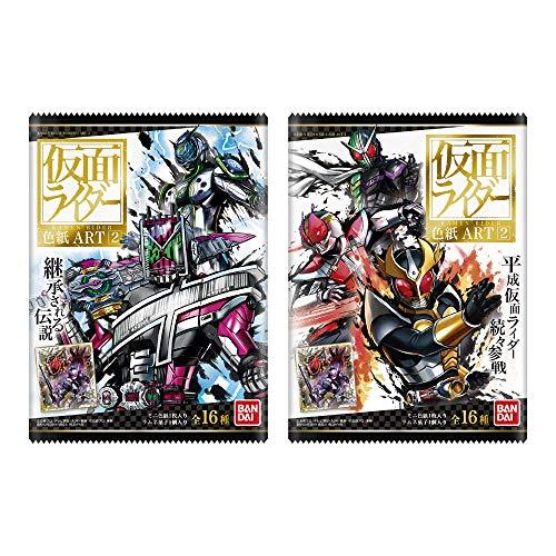 仮面ライダー 色紙ART2 (10個入) 食玩・清涼菓子 (...