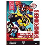 (Transformers (トランスフォーマー)) チョコレートショートブレッドキット161グラム (x4) - Transformers Chocolate Shortbread Kit 161g (Pack of 4) [並行輸入品]
