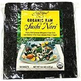 Gold Mine Organic Raw Sushi Nori 125 g, 125 g