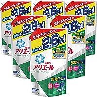 【ケース販売】 アリエール 洗濯洗剤 液体 リビングドライイオンパワージェル 詰め替え ウルトラジャンボ 1.90kg×6個