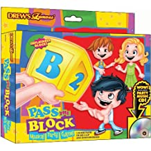 Carnival Fair Fun Drew's Famous Pass The Alphabet Block Game Party Activity Plastic Pack of 2