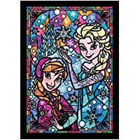 266ピース ジグソーパズル アナと雪の女王 アナ&エルサ ステンドグラス ぎゅっとシリーズ 【ステンドアート】(18.2x25.7cm)