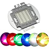 Odlamp Super Bright High Power LED Chip 50W SMD COB Light RGB Color Changing for Emitter Components Diode 50 W Bulb Lamp Bead