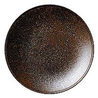 フィノ クリスタルブラウン 15.5cmプレート [ D15.5 x H1.7cm ] 【 中皿 】 | 飲食店 ホテル レストラン 和食 洋食 業務用