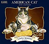 American Cat 2018 Calendar: Includes Free Download (Deluxe Wall)