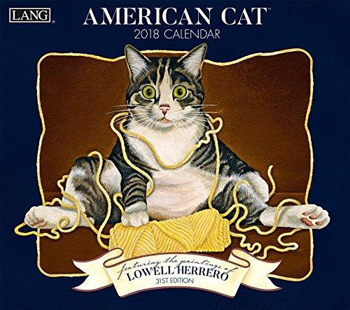American Cat 2018 Calendar: In...