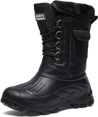 [イグル] スノーブーツ メンズ ブーツ 防水 防寒ブーツ レインブーツ 防水 防寒 防滑 ロングブーツ トレッキング メンズブーツ スノーシューズ 雪山 アウトドア 靴 メンズシューズ 冬用 裏起毛 保温 迷彩柄 ウィンターブーツ 釣り