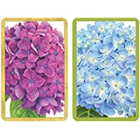 ICU Caspariジャンボトランプカード、紫陽花ガーデン、2のセット