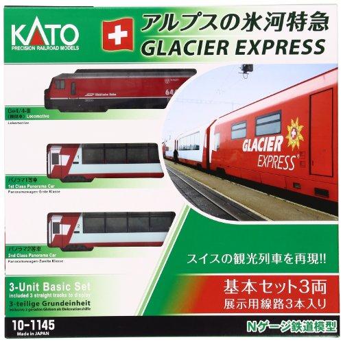 KATO Nゲージ アルプスの氷河特急 基本 3両セット 10-1145 鉄道模型 客車
