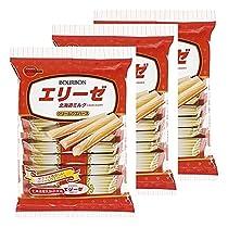 ブルボン エリーゼ北海道ミルク 18本×3袋