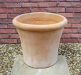 人気のベトナム鉢 大型の植木鉢 ルーブン (L39cm) テラコッタ 素焼き鉢 陶器鉢 園芸 ガーデニング おしゃれ これまでの洋風ガーデンとは一味違った空間を演出します