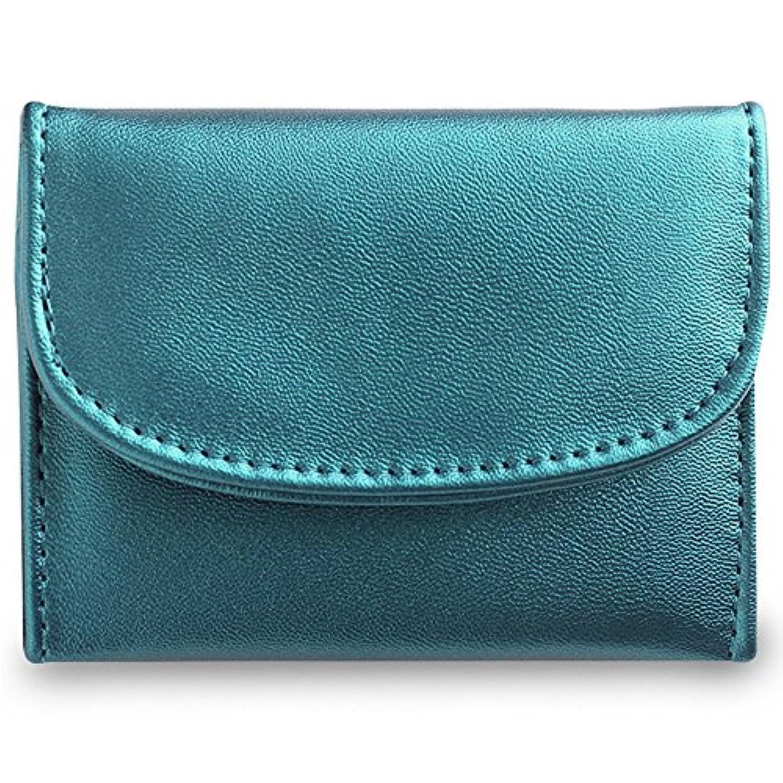 (ファシーノ) fascino 財布 レディース ミニ財布 人気 ミニウォレット 三つ折り 革 レディース かわいい カード入れ 小銭入れ コンパクト 軽量 女性用