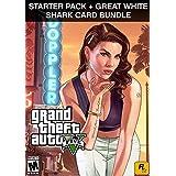 [価格改定] Grand Theft Auto V (日本語版) + 犯罪事業スターターパック + Great White Shark Cash Card (GTAマネー$1,250,000) Pack|オンラインコード版