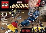 スーパーヒーローズ 76039 アントマン ファイナルバトル