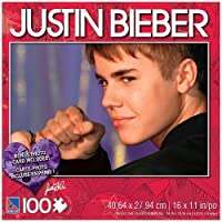 Justin Bieber 100 Piece Jigsaw Puzzle Justin with Fist