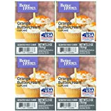 Better Homes and Gardens Orange Buttercream Cupcake Wax Cubes - 4-Pack