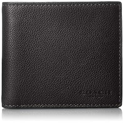 [コーチ] 二つ折り財布 [アウトレット] レザー F75003 BLK ブラック [並行輸入品]