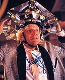 ★直筆サイン◆バックトゥザフューチャー◆BACK TO THE FUTURE (1985) ★クリストファー ロイド as ドクター エメット ブラウン ★Christopher Lloyd as Dr. Emmett Brown