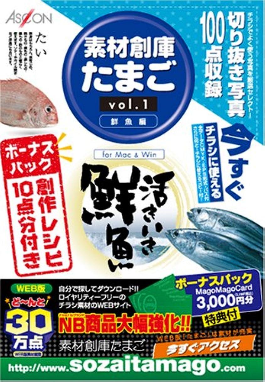切り刻む霧ピストル素材創庫たまご(Vol.1)鮮魚編