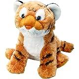 "Wild Republic Tiger Cub, Stuffed Animal, Plush Toy, Gifts for Kids, Cuddlekins, 12"", Multi (19372)"