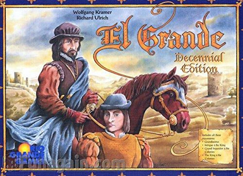 エルグランデ (El Grande: 10 Year Edition) ボードゲーム