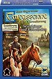 カルカソンヌ:宿屋と大聖堂 拡張セット1 (2015年版) Carcassonne Erweiterung 1: Wirtshauser & Kathedralen (2015 Edition) [並行輸入品]