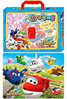 Super Wings Season 2 New IQ Puzzle Bag (4 Puzzle Set)