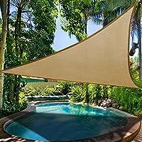 サンシェードテント 可動式テント ウォーニン 可動式天幕 オーニング 三角形ピクニックテント 日焼け止め UV防止 庭園 パティオ プール アウトドアキャンプ ガーデン用