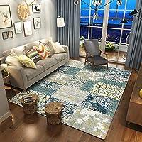 Carpet チェック柄カーペットリビングルームコーヒーテーブルベッドルームラグフルベッド寝具 A+ (色 : B, サイズ さいず : 200x280cm(79x110inch))