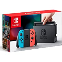 Nintendo Switch 本體 (ニンテンドースイッチ) 【Joy-Con (L) ネオンブルー/ (R) ネオンレッド】(キャンペーンプリペイド番號なし)