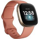 Fitbit Versa3 Alexa搭載/GPS搭載 スマートウォッチ Pink Clay ピンククレイ L/S サイズ [日本正規品]