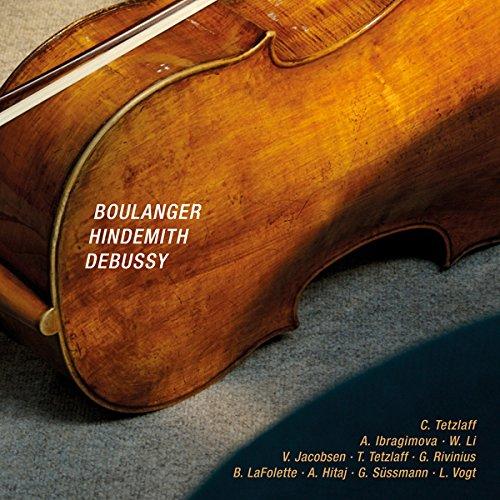 シュパヌンゲン音楽祭ライヴ・シリーズ2012 ~ ドビュッシー : ヴァイオリン・ソナタ ト短調 L140 他 (Boulanger , Hindemith , Debussy) [輸入盤]
