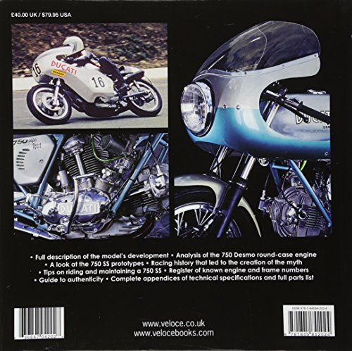 The Book of Ducati 750SS: 'Round Case' 1974