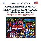 マッケイ:ヴィオラとピアノのための組曲/4月組曲/他