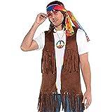 Men's Long Hippie Vest Men's Long Hippie Vest