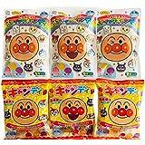 アンパンマン キャンディーアソート まとめ買い×6袋セット (アンパンマンキャンディ3袋、スティックキャンディ3袋)