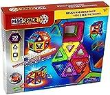 MAGSPACE・マグスペース30 高級「レインボーセット」 想像力を育てる知育玩具