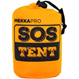 MEKKAPRO Emergency Survival Tent Shelter - 2 Person Tent - Survival Emergency Shelter, Tube Tent, Tarp