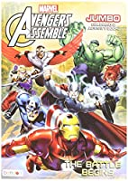 Avengers Assemble Jumbo Coloring and Activity Book
