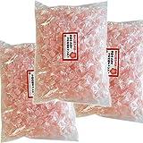 梅塩キャンディ 業務用大袋1kg(1粒3g 約310粒)×3袋セット【送料無料】熱中対策 夏の暑さ対策 ミネラル クエン酸 塩飴 体にやさしい塩分補給