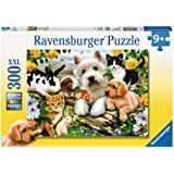 Ravensburger 13160 Happy Animal Babies Puzzle 300pc,Children's Puzzles