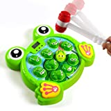 Interactive Whack A Frog Game, Learning, Active, Early Developmental Toy, Fun Gift for 2, 3, 4, 5, 6, 7, 8 Years Old Kids, To